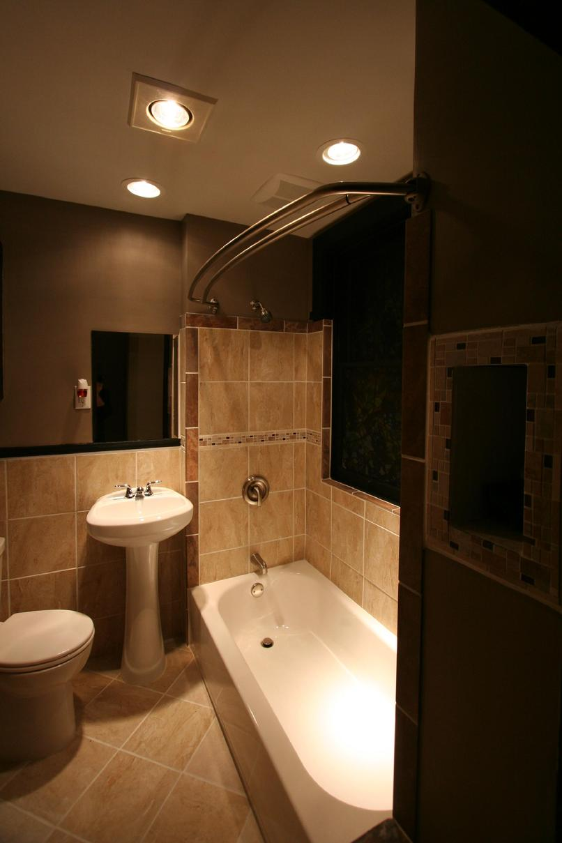 Heat lamp for shower home design ideas and pictures for Bathroom decor earth tones